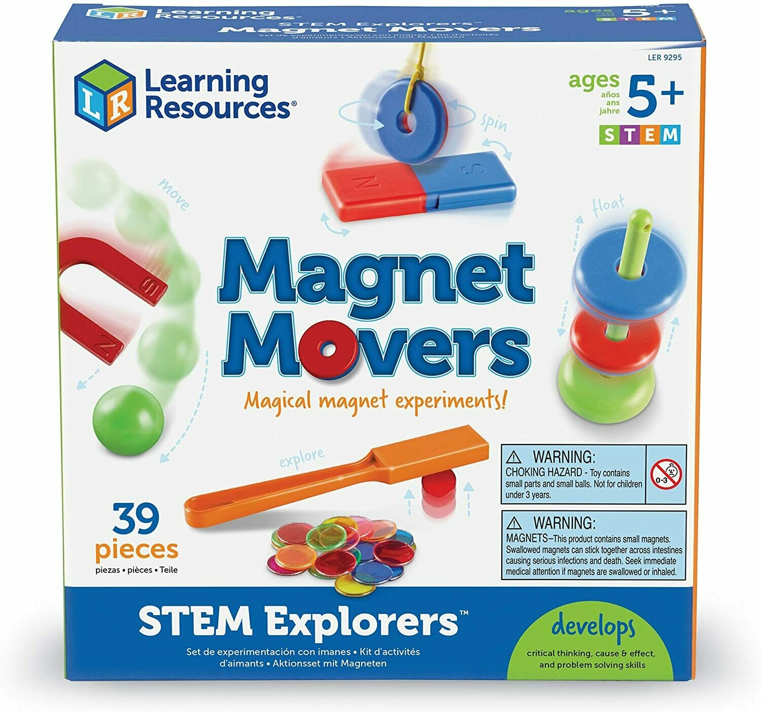 Educational Magnet Movers [39 pcs]