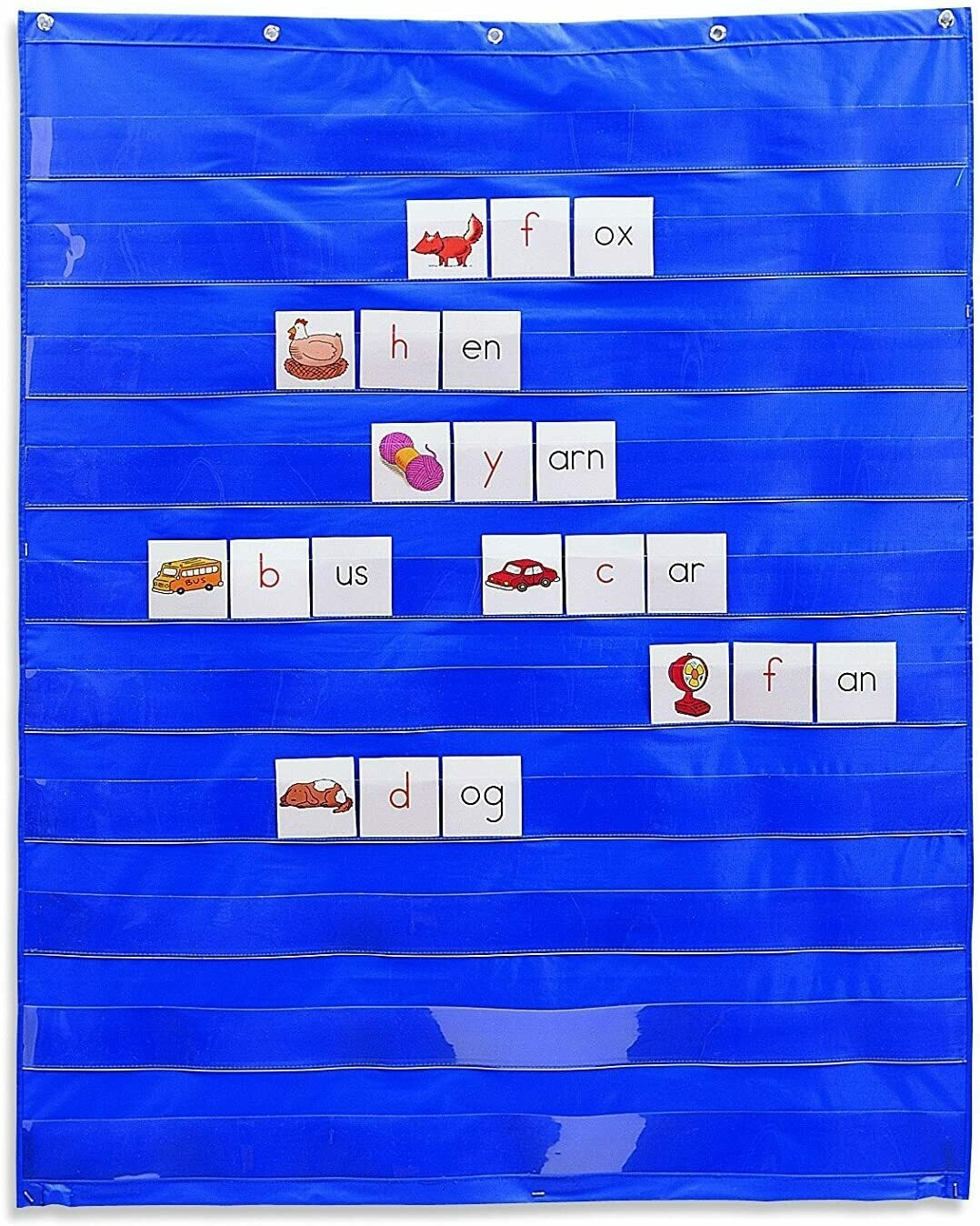 Standard Pocket Chart, Classroom Supplies, Homeschool, Gifts for Teachers, Pocket Chart