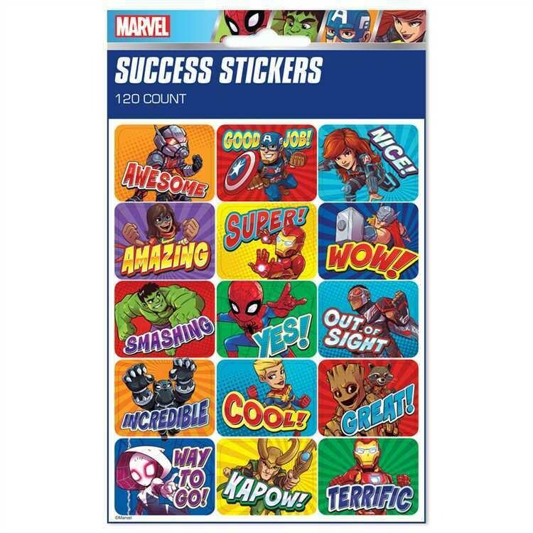 Super Hero Adventure Success Stickers