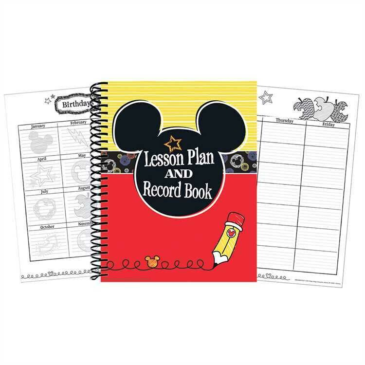 Mickey® Color Pop! Lesson Plan Book
