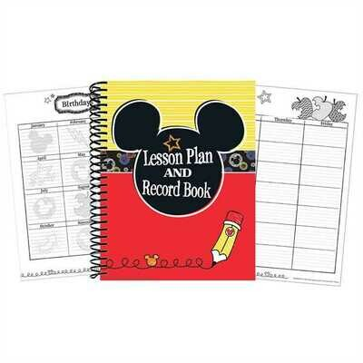 Mickey® Color Pop! Lesson Plan Book