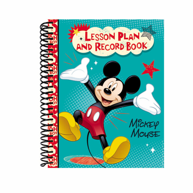 Mickey® Lesson Plan Book & Record Book