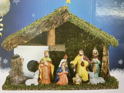 Nativity Scene Porcelain