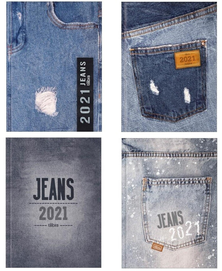 2021 Planner Jeans Daily