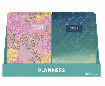 "2021 Weekly Hardback Tabbed Planner 5"" x 7"" [individual]"
