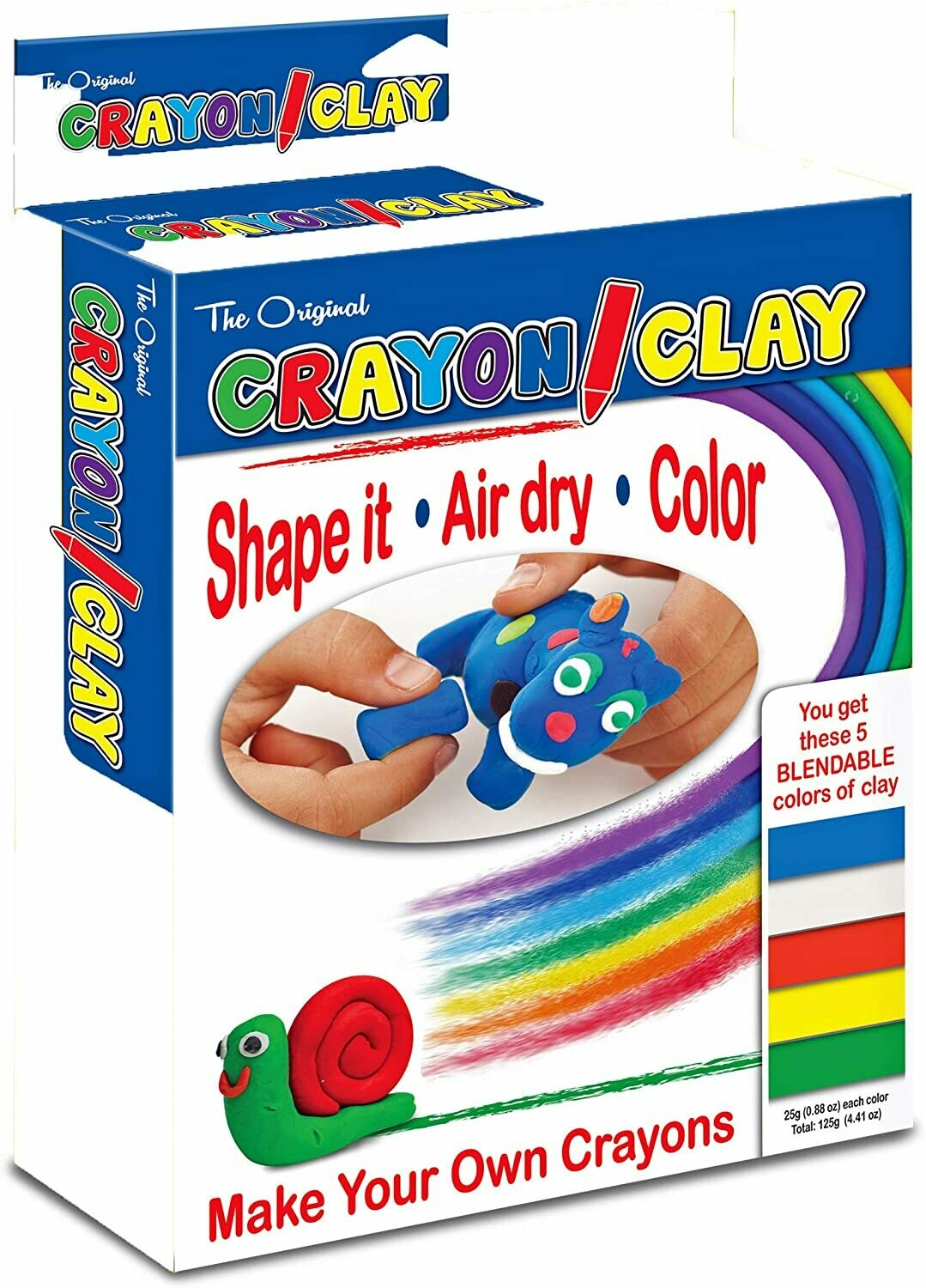 Crayon Clay 50g (5 pack)