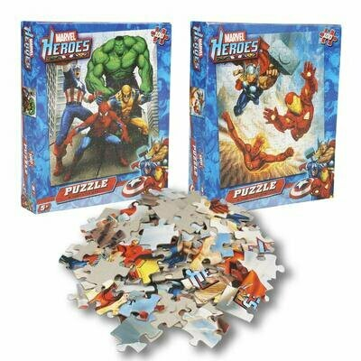 Puzzle Game  Marvel Heroes