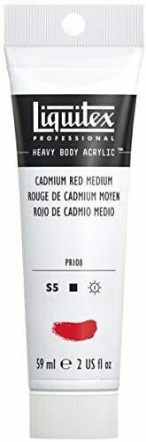 Liquitex Professional Heavy Body Acrylic Paint, 2-oz Tube