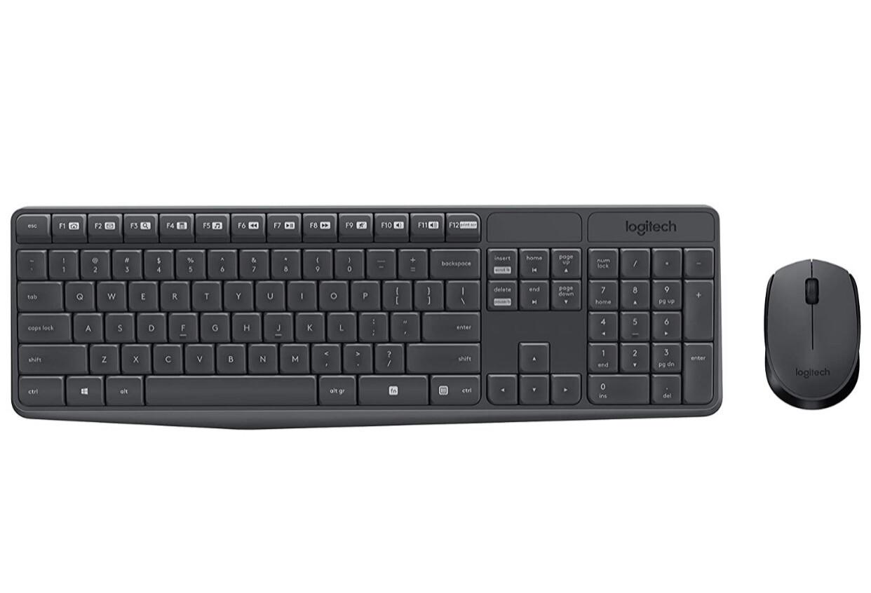 Keyboard & Mouse Wireless