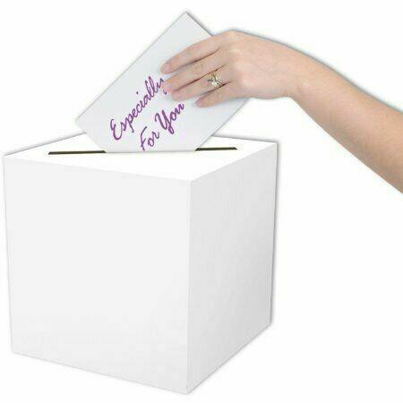 "Card Box All Purpose 9"" x 9"""