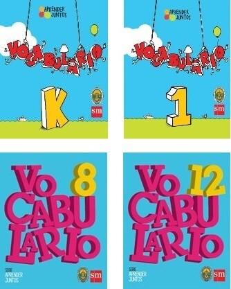 Cuaderno Vocabulario Nivel Elemental y Superior
