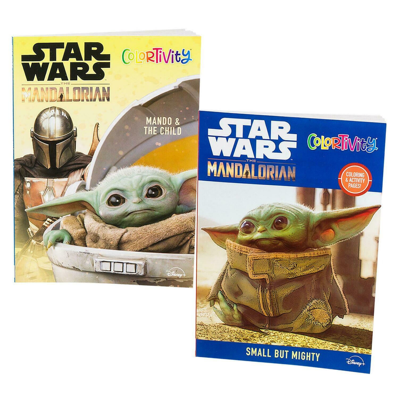 Star Wars Baby Yoda Coloring Book