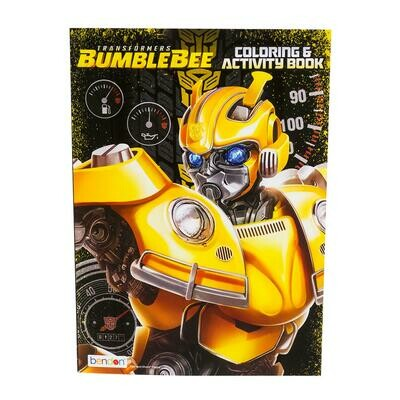 Transformers Coloring and Activity Book