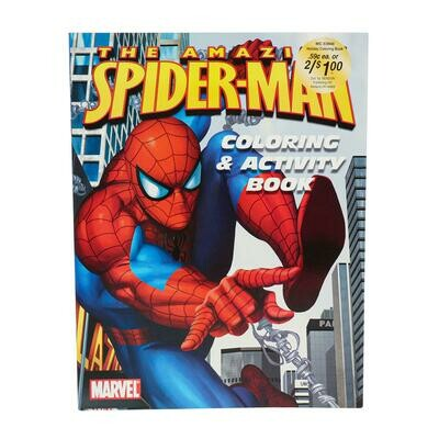 Spiderman Coloring and Activity Book