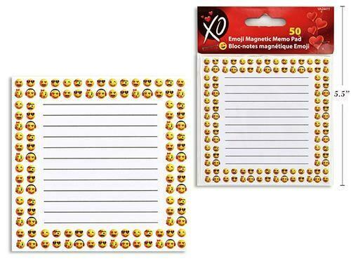 Emoji Magnetic Memo Pad