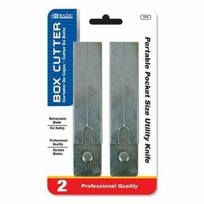 Bazic / Carton Cutters, Pk-2