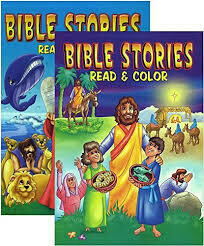 Coloring Book Bible Stories