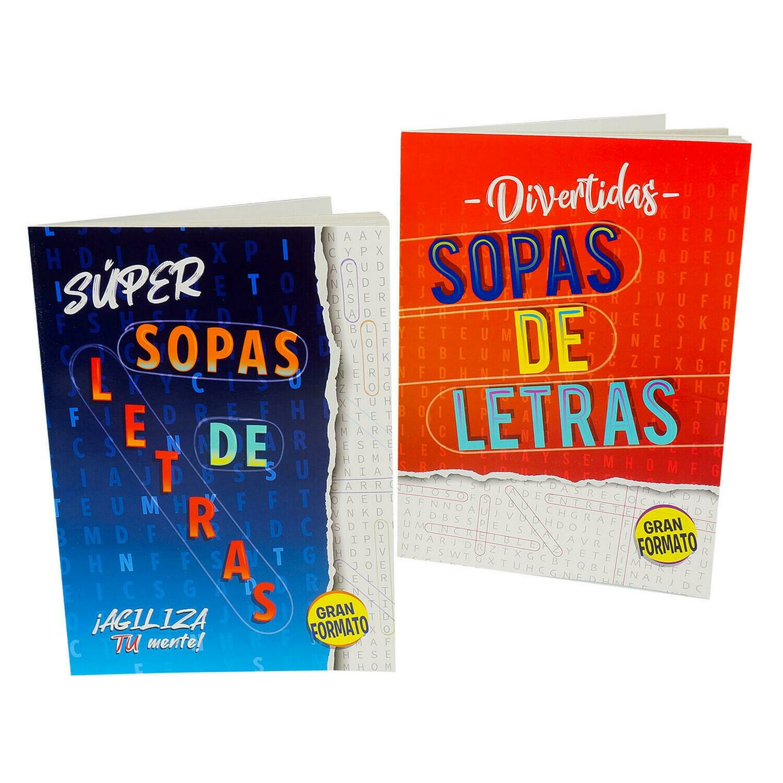 Activity Book Super Sopas de Letras
