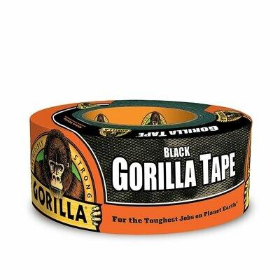 "Black Duct Tape, 1.88"" x 12 yd, Black"