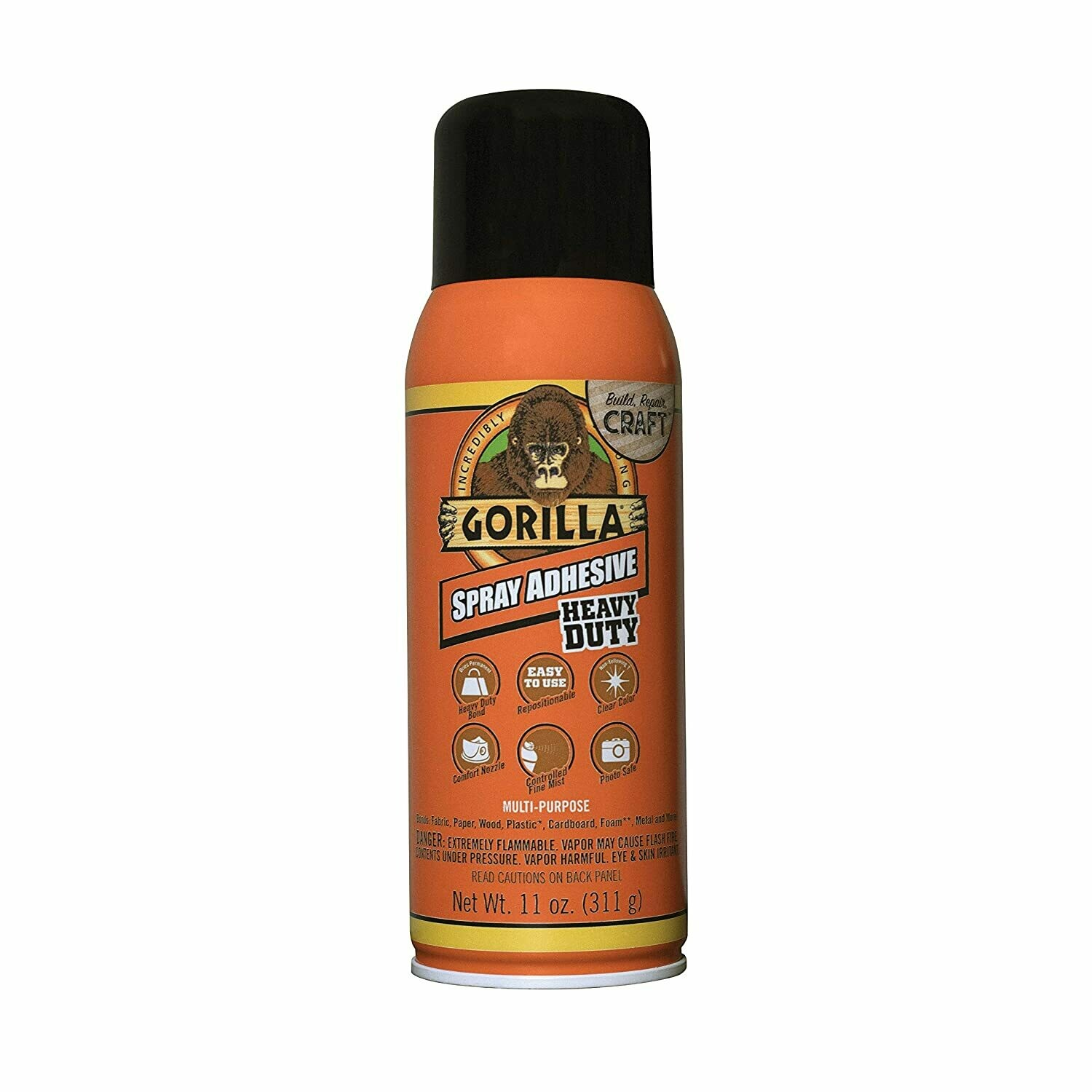 Spray Multipurpose Heavy Duty Adhesive 11oz Gorila