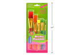 Brushes Color handles (pk-5)