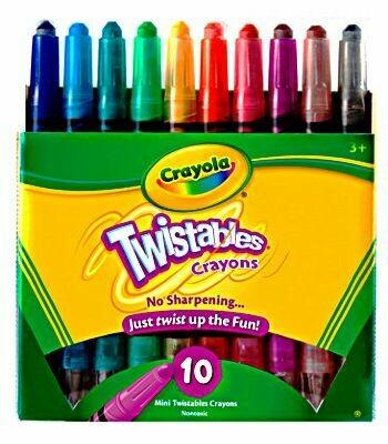 Twistable MINI Crayon 10ct.