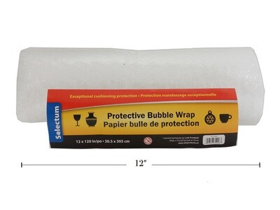 "Bubble Wrap 12"" x 10'"