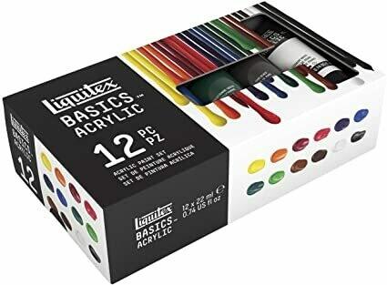 Liquitex Paint Acrylic 12-Colors 22ml