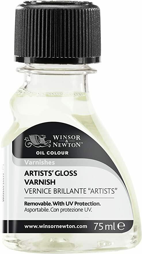 Varnish Gloss 2.5oz Winsor Oil