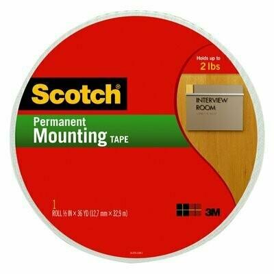 "Tape Scotch Mounting 110-MR 3/4"" x 38 yards"