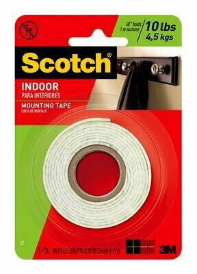 "Tape Scotch Mounting 1"" x 50-inch, BC"