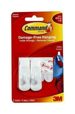 Command Small Utility Hooks 17002ES
