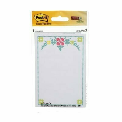 """Self-Stick Pads, Post-it 3""""x 5"""" Trend Printed Notes Pad"""