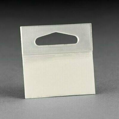 3M Hang Tabs 1075, Transparent, 50 mm x 50 mm