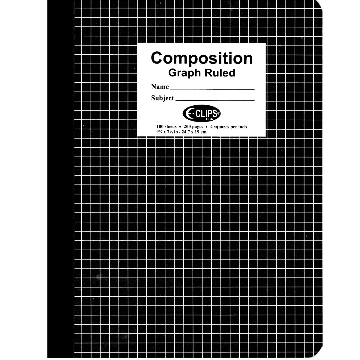 Notebook QUAD Ruled 200P [Each]