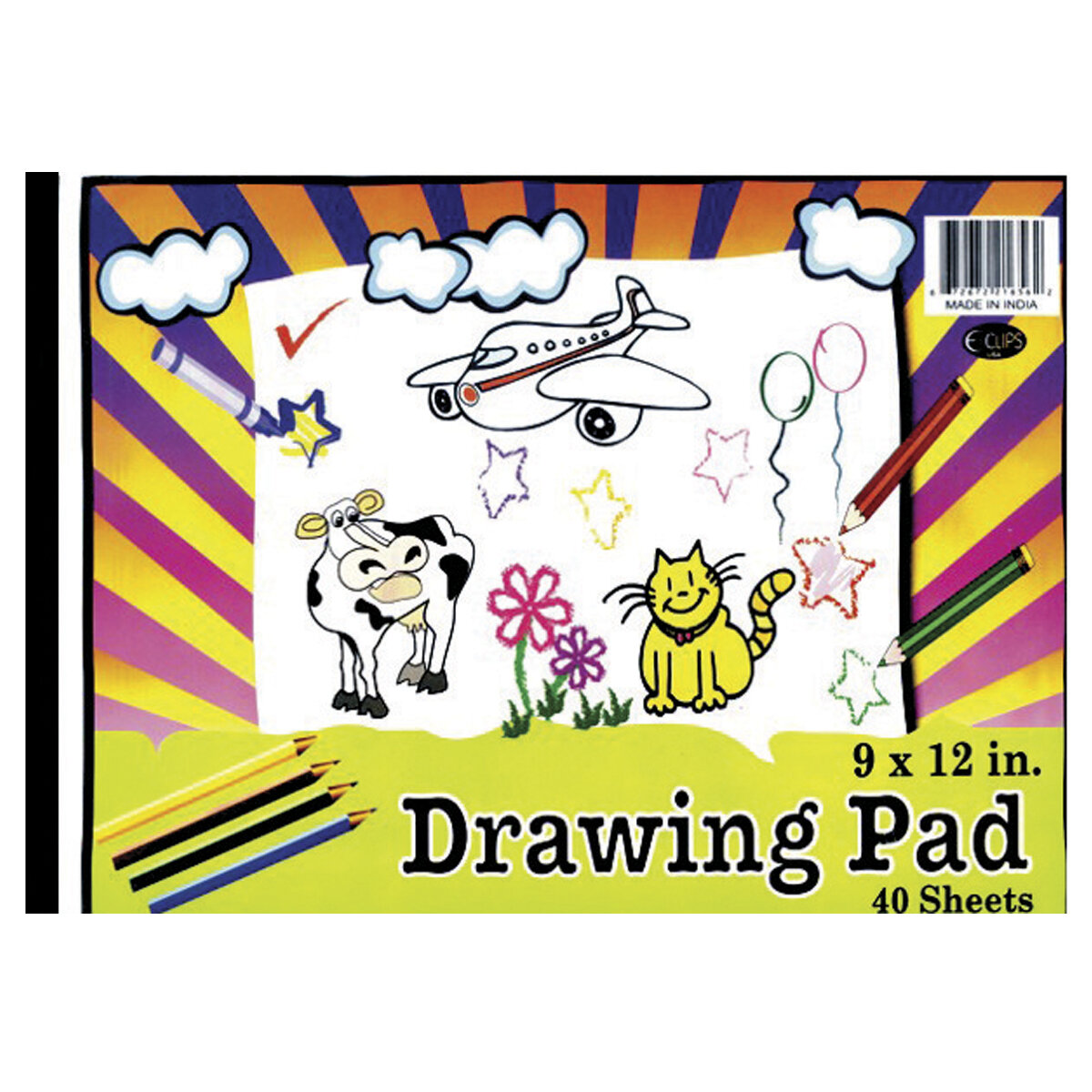 Drawing Pad 9X12, 40 Sheets