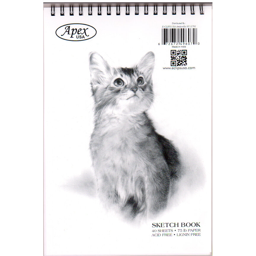 Sketch Pad 6×9 Poly Top Wire 40 sheets