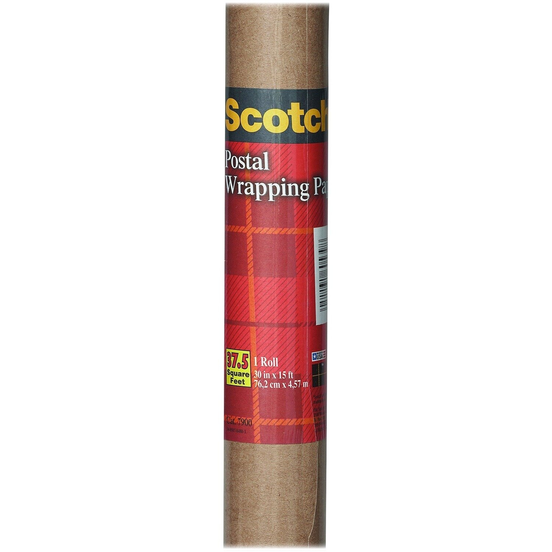 Paper Wrapping, Postal, 60# Kraft, 2-1/2 Ft.x5 Yd [Ctn-24]