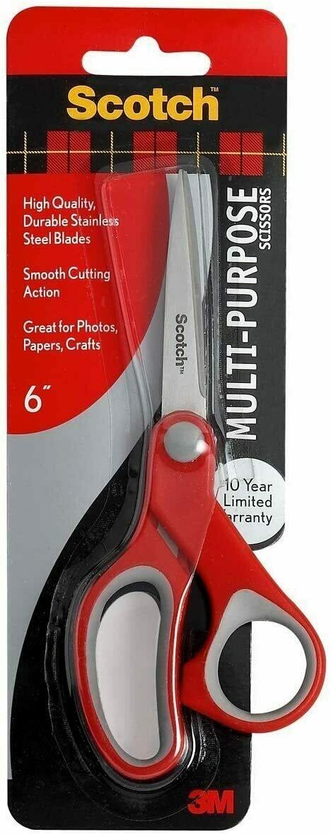 """Scissors Scotch 6"""" Multi-Purpose"""