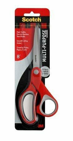 """Scissors Scotch 8"""" Multi-Purpose"""