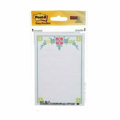 "Self-Stick Pads, Post-it 3""x 5"" Trend Printed Notes Pad"