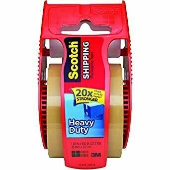 """Tape Scotch Packaging, Heavy Duty, Tan, 1.88"""" x 800"""""""