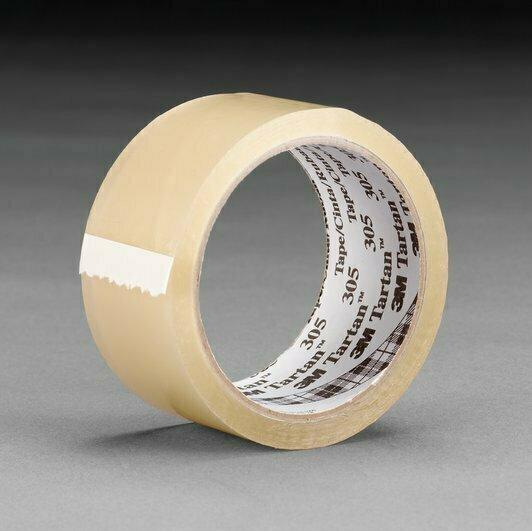"Tape Scotch Sealing 2""x 50 Yards - 1.8 Mil - Clear"