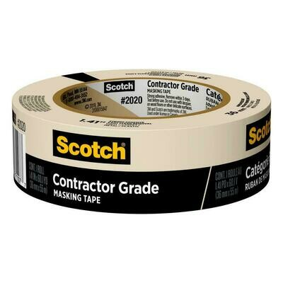 "Tape Scotch Masking 1.5"" x 60 yds"