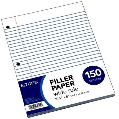 Paper Filler 150ct. WR [Pk]