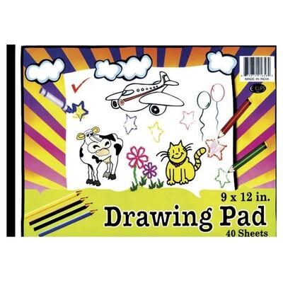 Drawing Pad 9X12, 40 Sheets