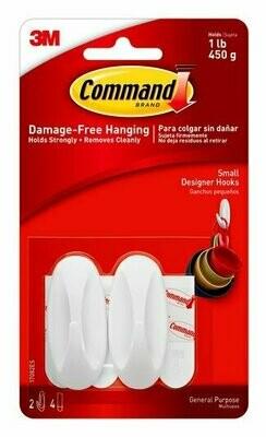 Command Small Designer Hooks, 17082ES