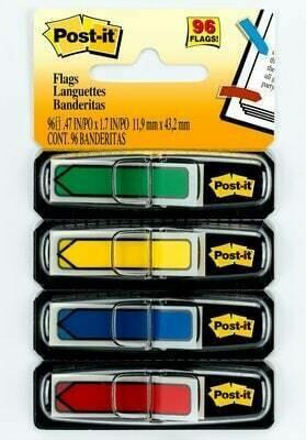 Flags, Post-it Arrow Assorted Colors [pk-4]
