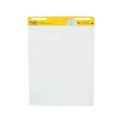 Self-Stick Pads, Easel Pad White Post-it