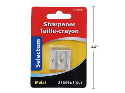 Sharpener Two Hole Metal BC